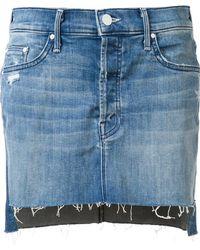 Mother - 'step' Mini Skirt - Lyst