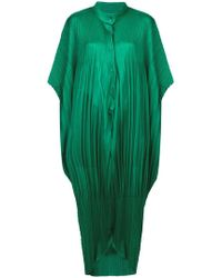 Pleats Please Issey Miyake - Oversized Pleated Jumpsuit - Lyst