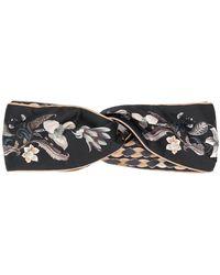 Ferragamo - Floral-print Headband - Lyst