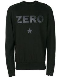 Tom Rebl - Zero Slogan Sweatshirt - Lyst