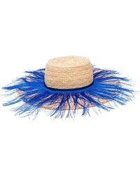 Forte Forte - Fringed Sun Hat - Lyst