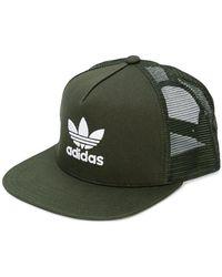 adidas - Originals Trefoil Trucker Cap - Lyst