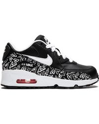 Nike - Air Max 90 Print Ltr Trainers - Lyst