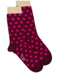 PS by Paul Smith - Fluffy Spot Harlow Socks - Lyst
