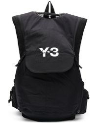 Lyst - Y-3 Crossbody Backpack in White 33bc701ceed8b