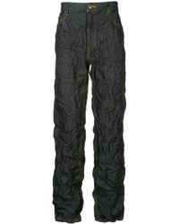 Facetasm - X Woolmark Crinkle-effect Jeans - Lyst