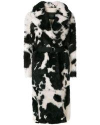 Blancha - Animal Print Coat - Lyst