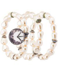 Camila Klein - Three Pearl-bracelets Set - Lyst