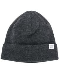 Norse Projects - Logo Beanie - Lyst