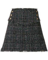 Pinko - Knit Mini Skirt - Lyst