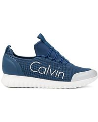 Calvin Klein Jeans - Slip-on Mesh Trainers - Lyst