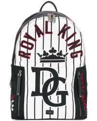 Dolce & Gabbana - Baseball Vulcano Backpack - Lyst