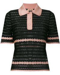 N°21 - Sheer Polo T-shirt - Lyst