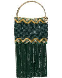 Rosantica - Beaded Tassel Clutch Bag - Lyst