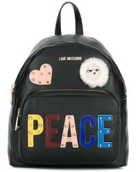 Love Moschino - Patches Backpack - Lyst