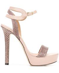 Marc Ellis - Metallic High-heeled Sandals - Lyst