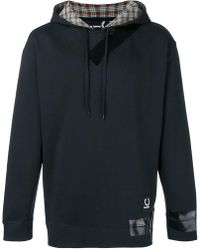 Fred Perry - Hooded Tape Datail Sweatshirt - Lyst