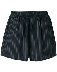 MM6 by Maison Martin Margiela - Striped Shorts - Lyst
