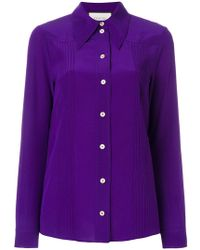 Gucci - Pointed Collar Shirt - Lyst