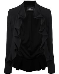 Capucci - Giacca Ruffle Jacket - Lyst
