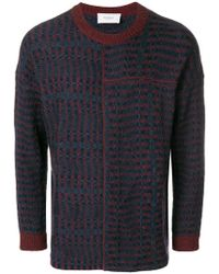 Pringle of Scotland - Patchwork Fair Isle Jumper - Lyst