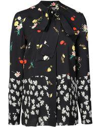 Derek Lam - Floral Print Shirt - Lyst