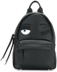 Chiara Ferragni - Logo Patched Backpack - Lyst