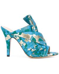 Gianluca Capannolo - Patterned Heeled Mules - Lyst
