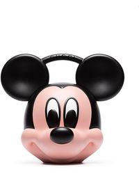 Gucci Сумка-тоут Mickey Mouse - Черный