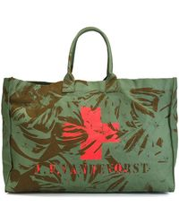 A.F.Vandevorst - 'we Can Dance' Beach Bag - Lyst