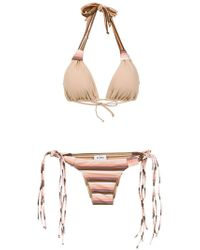 Amir Slama - Striped Bikini Set - Lyst