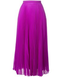 Marco De Vincenzo - High Waisted Pleated Skirt - Lyst