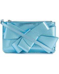 Delpozo - Bow Embellished Mini Bag - Lyst