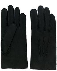 A.P.C. - Handschuhe mit Shearlin-Besatz - Lyst
