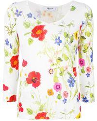 Blugirl Blumarine - Poppy Print Top - Lyst