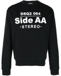 DSquared² - Printed Sweatshirt - Lyst
