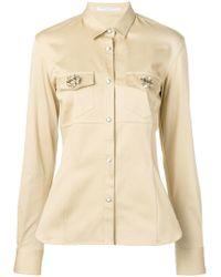 26028c61c Ermanno Scervino - Brooch Embellished Shirt - Lyst