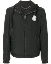 Billionaire | Logo Patch Hooded Jacket | Lyst