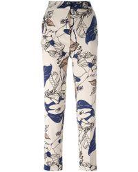 Essentiel Antwerp - Floral Print Trousers - Lyst
