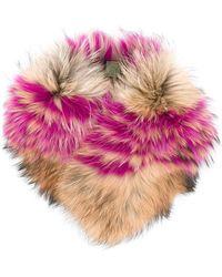 Mr & Mrs Italy - Fur Collar - Lyst