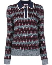 Carven - Knitted Sweater - Lyst