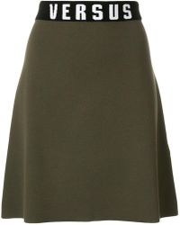Versus - High Waisted A-line Skirt - Lyst
