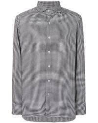 Tom Ford - Tailored Houndstooth Print Shirt - Lyst