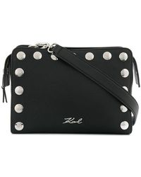 Karl Lagerfeld - Snaps Small Shoulder Bag - Lyst