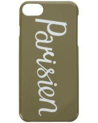 Maison Kitsuné - Parisienne Iphone 7 Case - Lyst