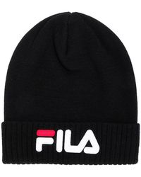 Fila - Logo Embroidered Beanie - Lyst