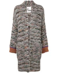 8pm - Knitted Coat - Lyst