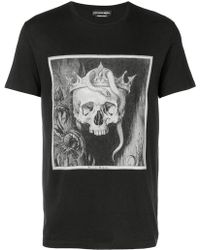 Mcq Swallow Gothic Logo T-shirt in White for Men - Lyst 2b09c3922