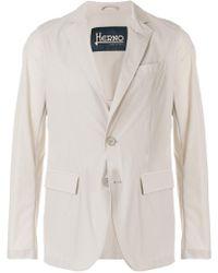 Herno - Blazer à poches à rabat - Lyst