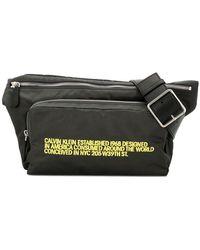 CALVIN KLEIN 205W39NYC - Grand sac banane à logo - Lyst